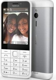 NOKIA 230 DS WHITE SILVER