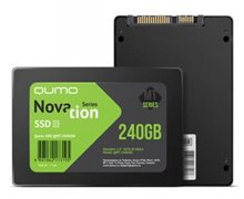 "SSD QUMO 2.5"" Novation MT 240Gb, QMT-240GSN SATA3, TLC, RTL"