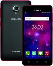 PHILIPS V377 (Black+Red)