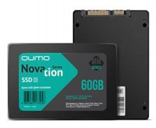 "SSD QUMO 2.5"" Novation MM 60Gb, QMM-60GSNND SATA3, MLC without DRAM, OEM"