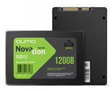 "SSD QUMO 2.5"" Novation MT 120Gb, QMT-120GSN SATA3, TLC, RTL"
