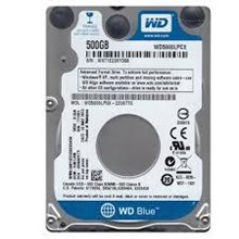 "Mobile HDD WD 2.5"" 500Gb WD5000LPCX Blue, 16Mb, 5400rpm, SATA 3(6Mb/s)"