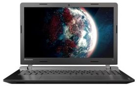 "LENOVO IdeaPad 100-15 N2840/2G/500GB/15.6""/noDVD/WiFi/Win10 Black (80MJ00DSRK)"