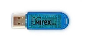 USB Flash drive 8Gb MIREX Elf Blue USB3.0 RTL
