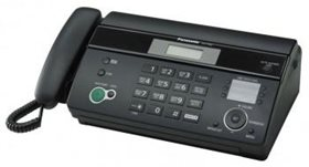 Факс PANASONIC KX-FT 982 RU-B черный (на термобумаге, копир)