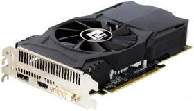 POWERCOLOR ATI RX 550 Red Dragon (AXRX 550 2GBD5-DH/OC) 2Gb 128bit DDR5 DVI-D/HDMI/DP RTL