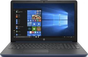 "HP 15-da0021ur N5000/4Gb/500Gb/15.6""/noDVD/WiFi/BT/Win10 Twilight Blue (4GM69EA)"